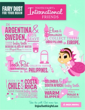The Tooth Fairy's International Friends