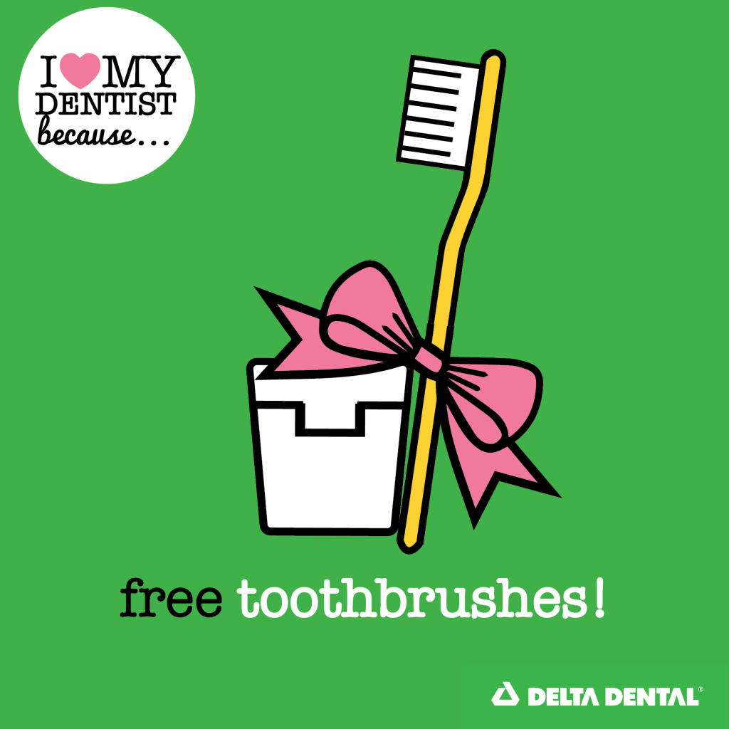 Reason 4 - Free Toothbrushes_Free Dental Swag BLOG