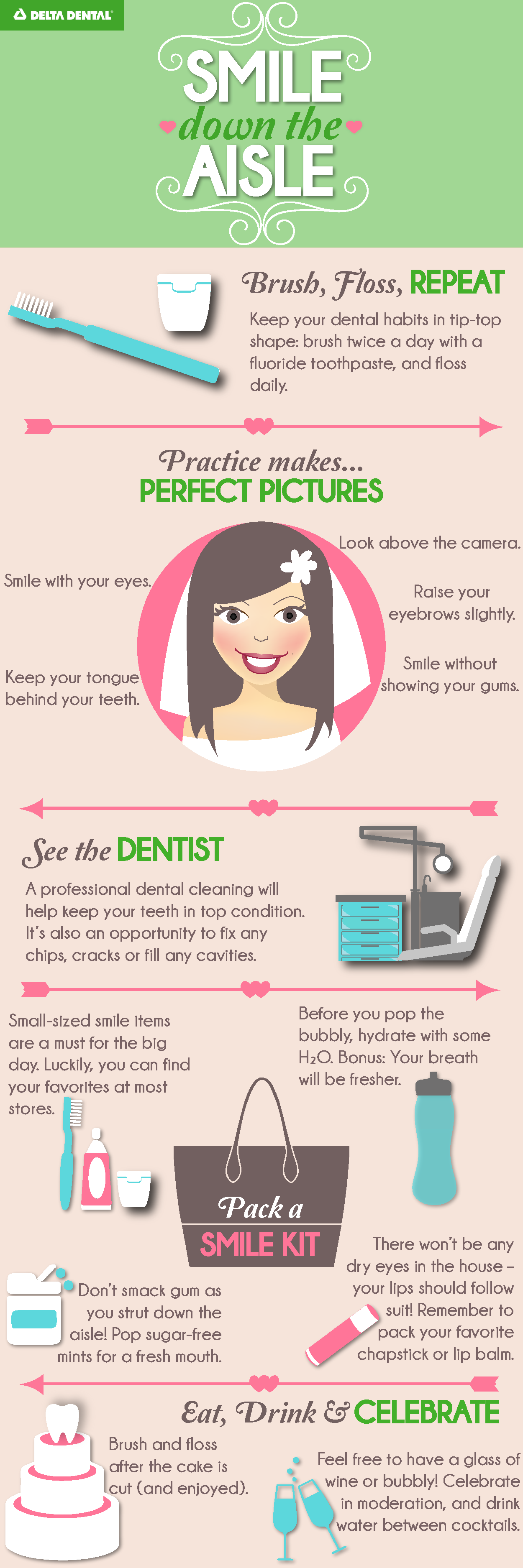 Wedding season is in full swing! Here's how to ensure an aisle-worthy smile: