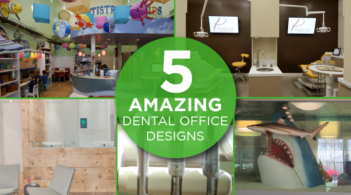 5 Dentists Offices That Will Make You Want More Cavities