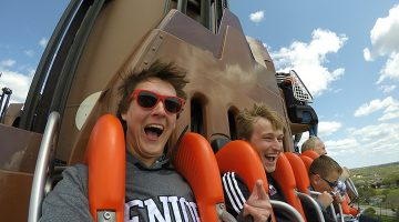 We love amusement parks! Here are our top 3: