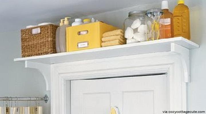 Tiny Tips 6.Over the Door Bookshelf