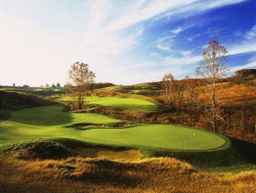 The eighth hole at Ballyhack GC; Roanoke, Virginia.  AR:  0.75