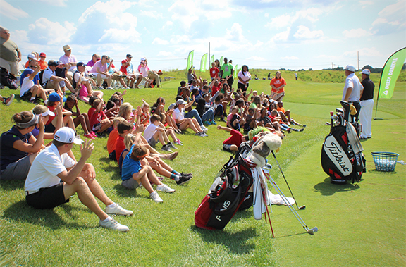 Making a Difference through the Game of Golf