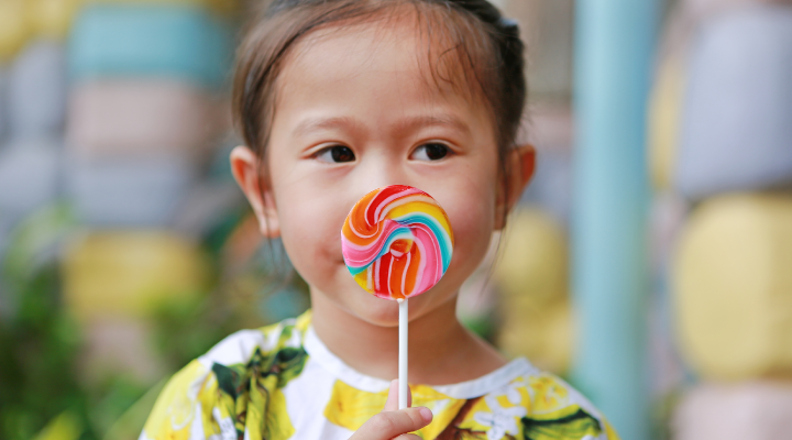 Candy Causes Decay on Baby Teeth