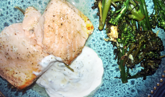 Recipe: Rosemary Lemon-Baked Salmon with Mint Yogurt Sauce   Oral and Overall Health Benefits
