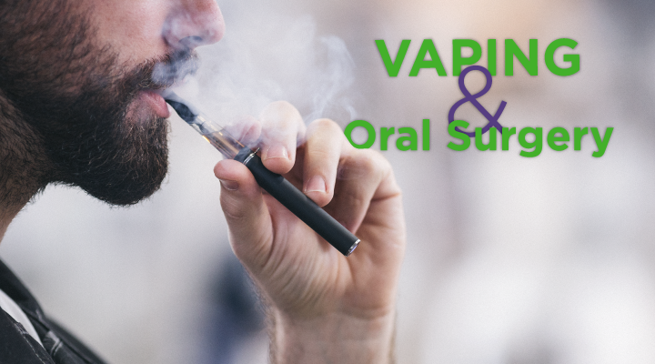 E-cigarettes and vapes make it more difficult for us to heal after dental surgery. Click to learn why.