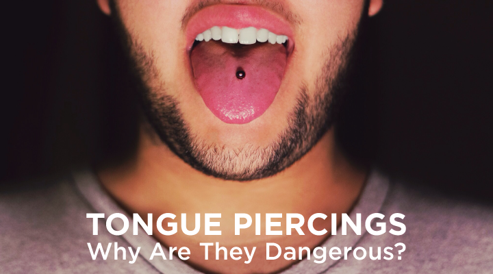 Get the facts on how tongue piercings lead to teeth damage, infection, and more.