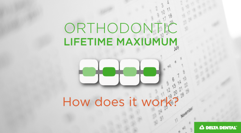 When it comes to your dental insurance policy, there are several terms that refer to a maximum that can be easily confused with each other: out-of-pocket maximum, annual maximum, and orthodontic lifetime maximum.