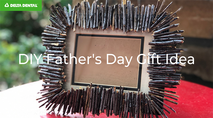 This is a fun craft project that you and the kids can do together for Dad to make this Father's Day extra special.