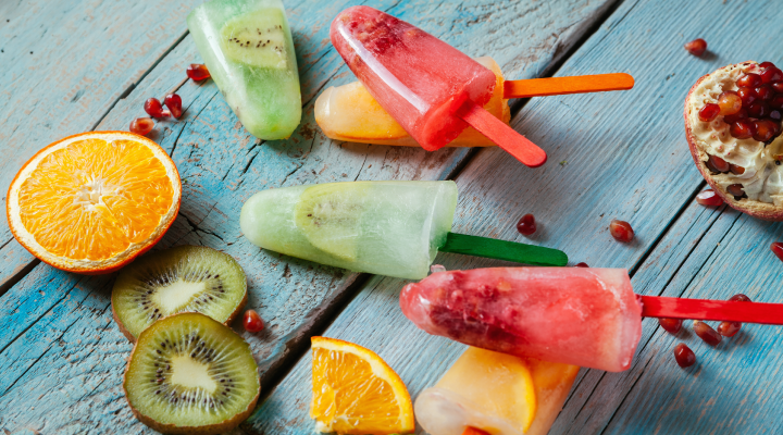 Enjoy any of these 3 delicious and smile-friendly popsicles: