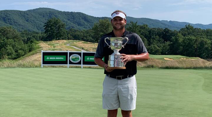 Mark Lawrence Jr. Wins Delta Dental State Open of Virginia in its Final Year at Ballyhack