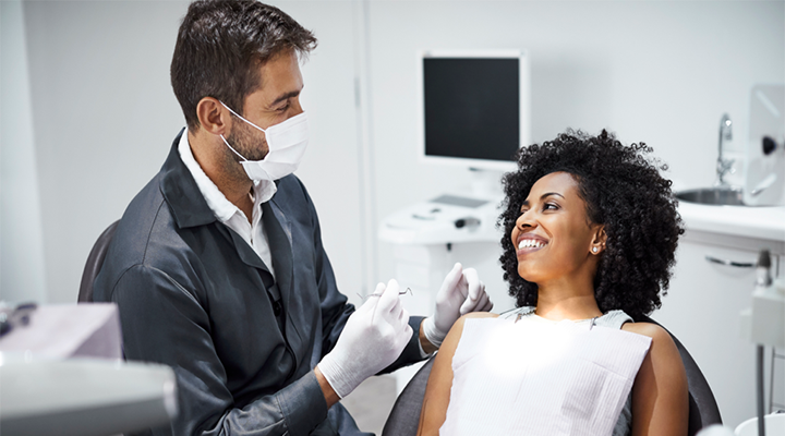 Regular visits to the dentist may help prevent larger problems down the road.