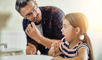 Guest Blog: Teaching children's oral health at home