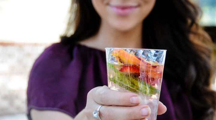 Summertime means we're reaching for something cold and refreshing more often to keep us hydrated. Sometimes that means grabbing a sports drink, soda or juice loaded with sugar—but it doesn't have to.